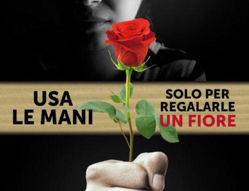 Usa le mani solo per regalarle un fiore