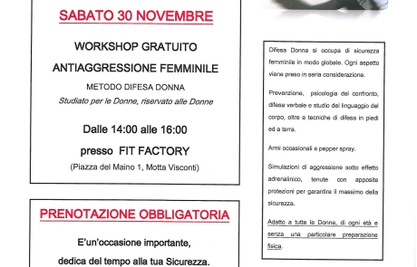 Workshop Gratuito a Motta Visconti  ( Milano )