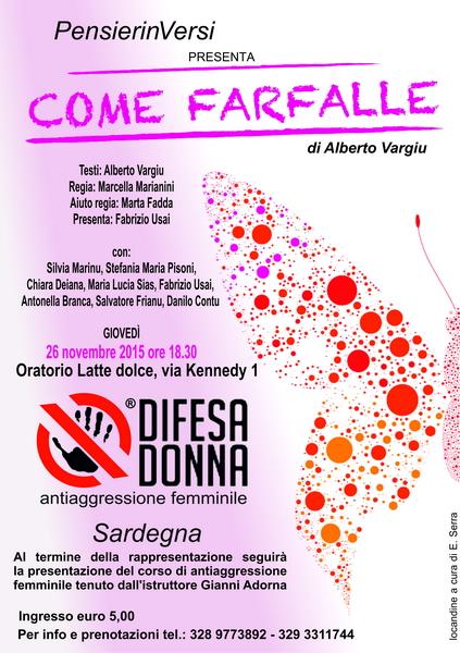 Seminario introduttivo al corso di antiaggressione femminile a Sassari