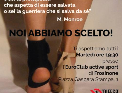 Corso serale di antiaggressione femminile a Frosinone