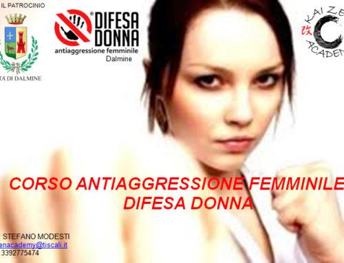 Corso serale di antiaggressione femminile a Dalmine