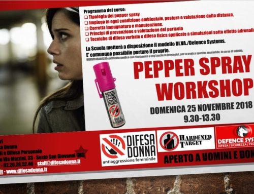 Seminario Spray Antiaggressione a Sesto San Giovanni (Milano)