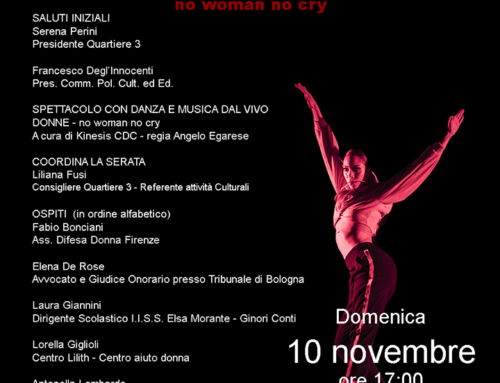 "Donne ""No woman no cry"" – Firenze"