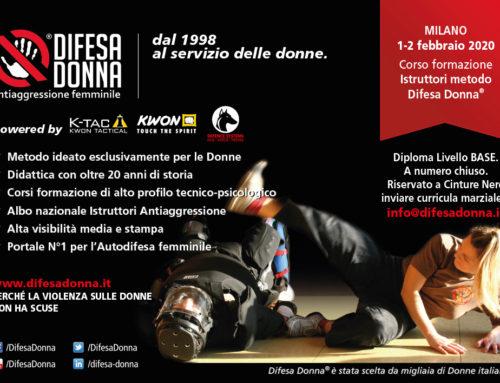 Corso formazione Istruttori 2020 – Livello base – Milano 1-2 febbraio