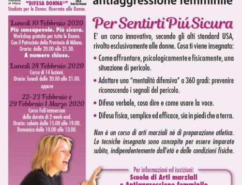 Seminario Gratuito Difesa Donna a Sesto San Giovanni (Milano)