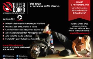Corso Istruttori Difesa Donna Milano
