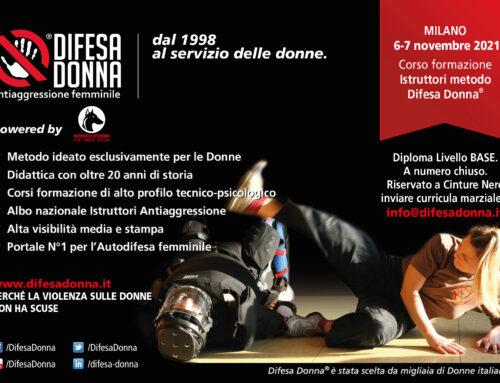 Corso formazione Istruttori 2021 – Livello base – Milano 6-7 novembre